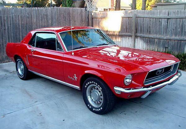1968 Mustang Candy Apple Red 1968 Mustangs Info Stats For Steve Mcqueen S Bullitt Mustang 1968 Mustang Steve Mcqueen Bullitt Mustang Red Mustang