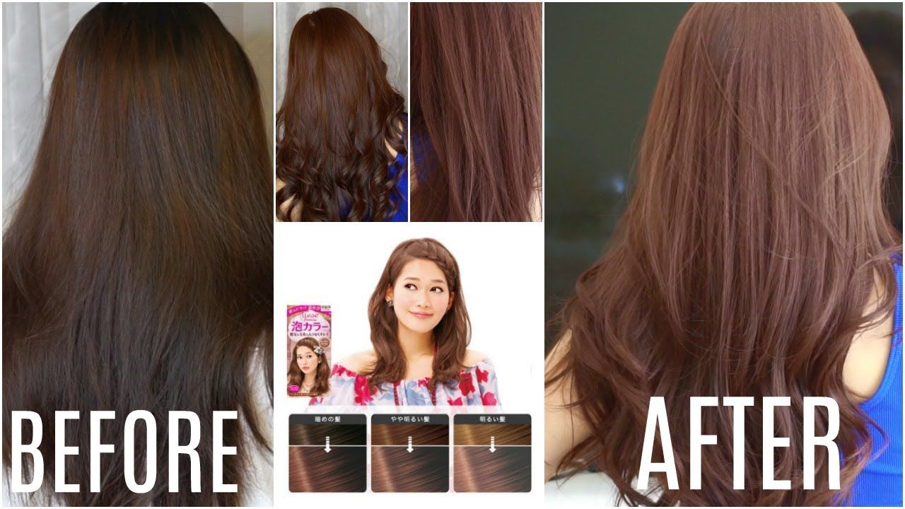 Kao Liese Hair Dye Step By Step Tutorial Product Review Light Brown Hair Dye Liese Hair Color Dyed Hair
