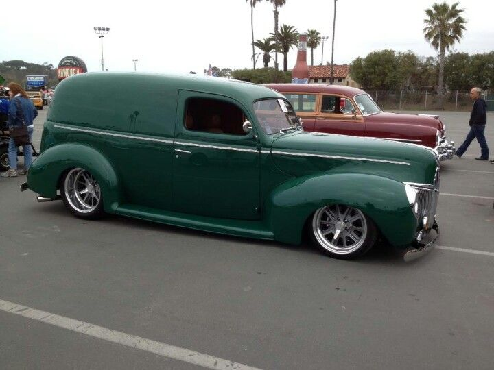 1940 Ford Delivery Van Classic Cars Trucks Panel Truck Ford Trucks