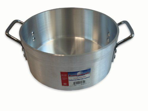 Alegacy Eagleware EW25010 The Point-Two-Five-Line Professional Heavy-Duty Aluminum Sauce Pot, 10-Quart - http://cookware.everythingreviews.net/5410/alegacy-eagleware-ew25010-the-point-two-five-line-professional-heavy-duty-aluminum-sauce-pot-10-quart.html