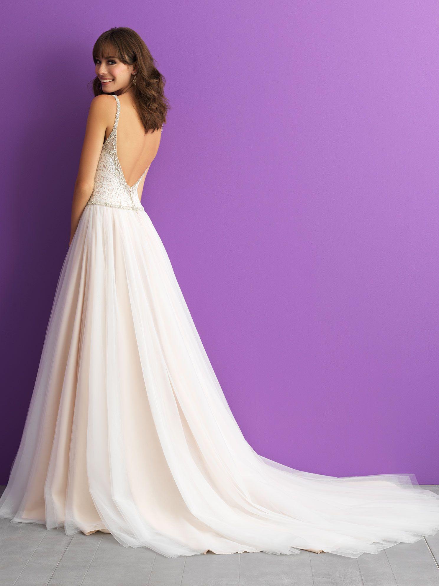 allure romance 20   Wedding dresses simple, Pretty wedding ...