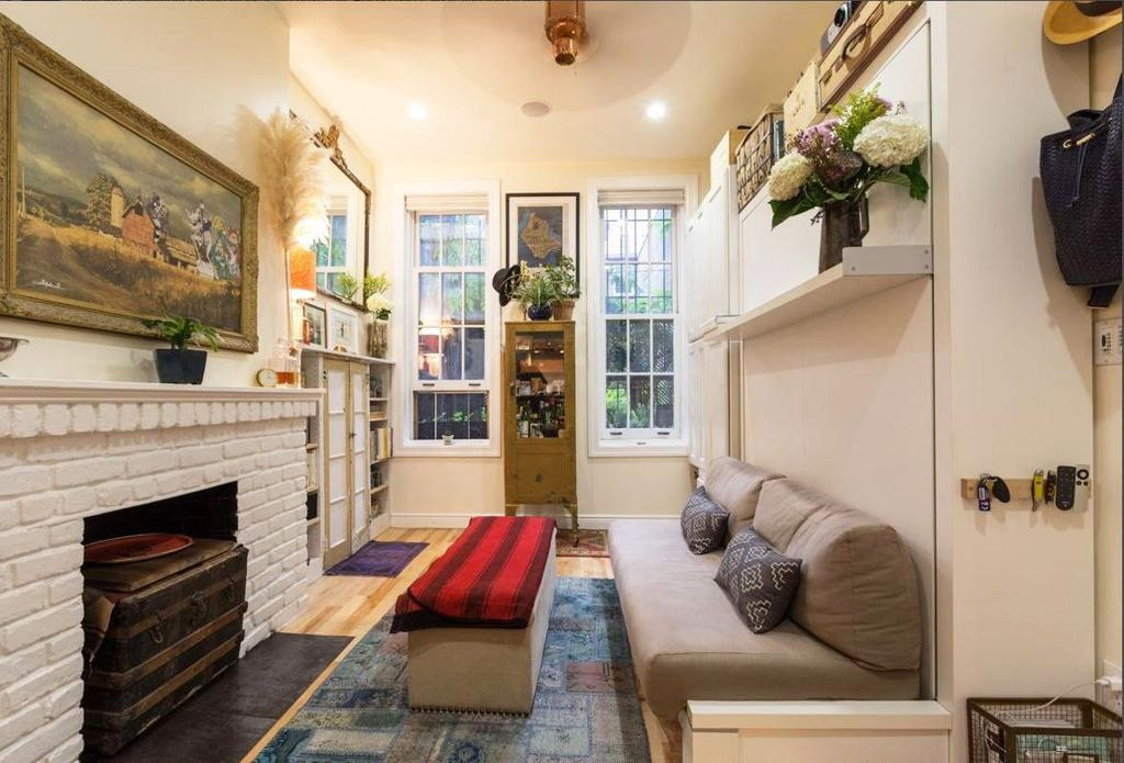 Fills A 242 Square Foot Village Apartment With