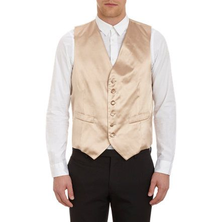 Barneys New York Silk Satin Vest Sale up to 70% off at Barneyswarehouse.com