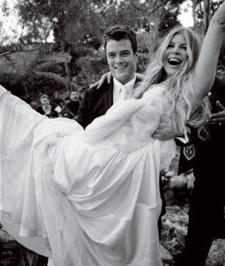 Celebrity Wedding Fergie And Josh Duhamel Bells