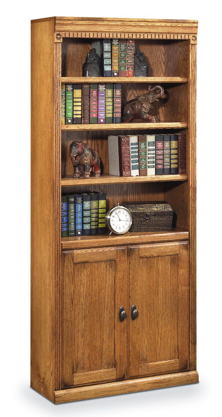 Martin Furniture Huntington Oxford Library Bookcase With Lower