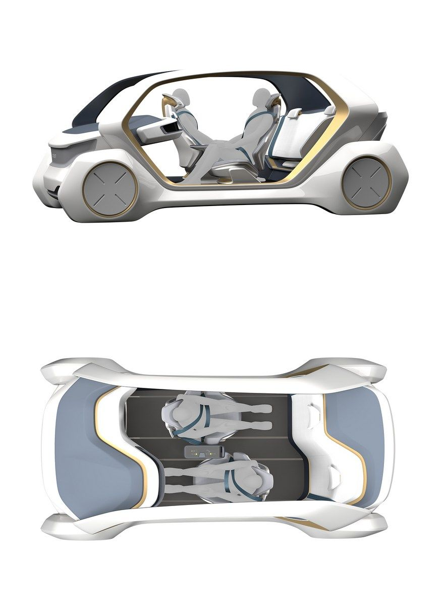 Adient AI18 Conceptualizes The Future Interior Of Autonomous Vehicles