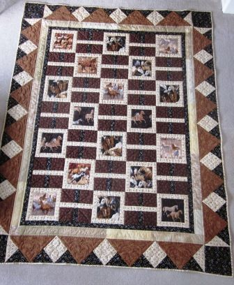 Wild Horses Quilt Crafts Sewing Quilt Inspiration Pinterest