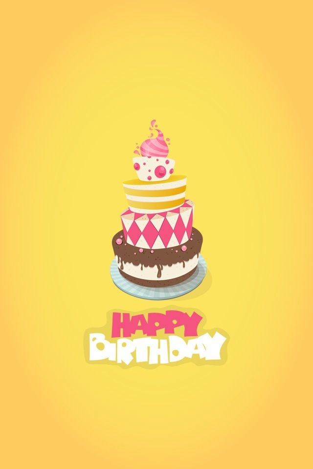 Happy birthday iphone wallpaper Happy birthday