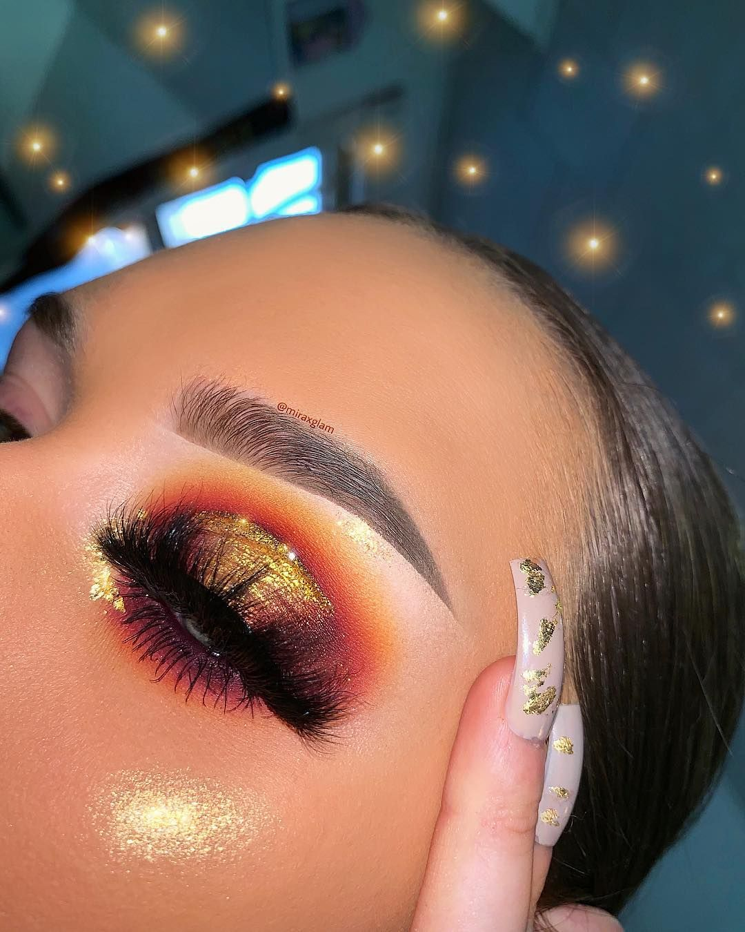 Golden Hour Golden Sunset Looks Are My Favorite I Hope You All Love Them As Much As I Do Son Glowy Makeup Aesthetic Makeup Eye Makeup