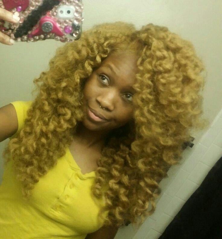Blonde Crochet Braids Marley HairFlexi