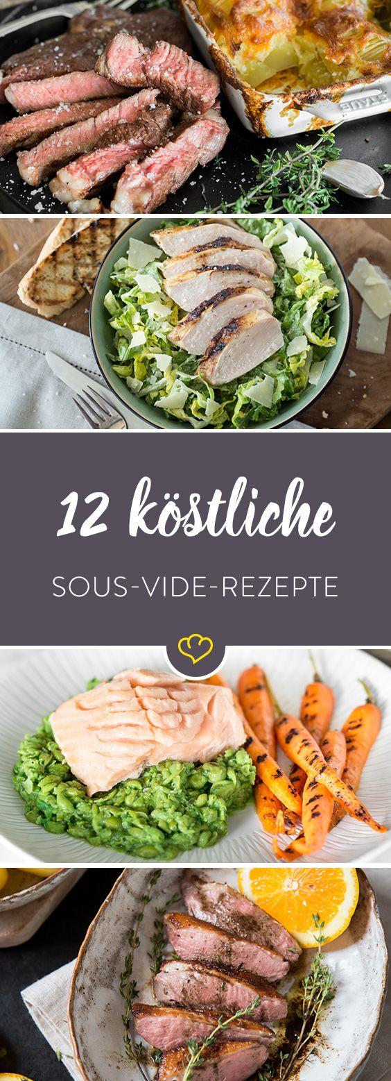 Sous Vide Rezepte: 12 gegarte Köstlichkeiten aus der Tüte #crockpotrecipes