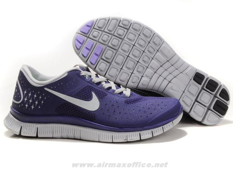 755ba006e8f4 Purple White 511527-520 Nike Free 4.0 V2 Womens