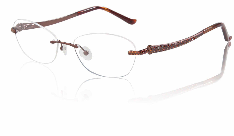 72fb9f63ee9 Judith Leiber Hammered JL 1635A Eyeglasses