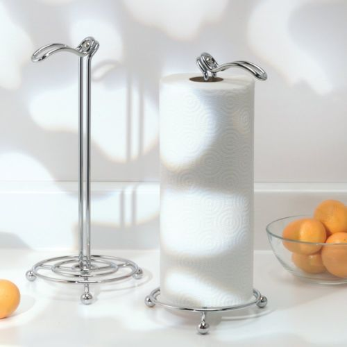 Swivel Paper Towel Stand Holder Durable Counter Tops Kitchen