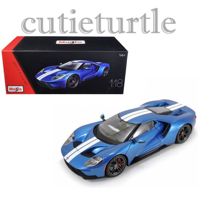 Contemporary Manufacture  Ford Gt Cast Model Exclusive Edition