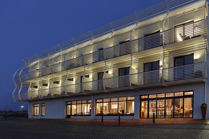 Das hotel f hrhaus in niedersachsen am n rdlichen for Hotel direkt an der nordsee