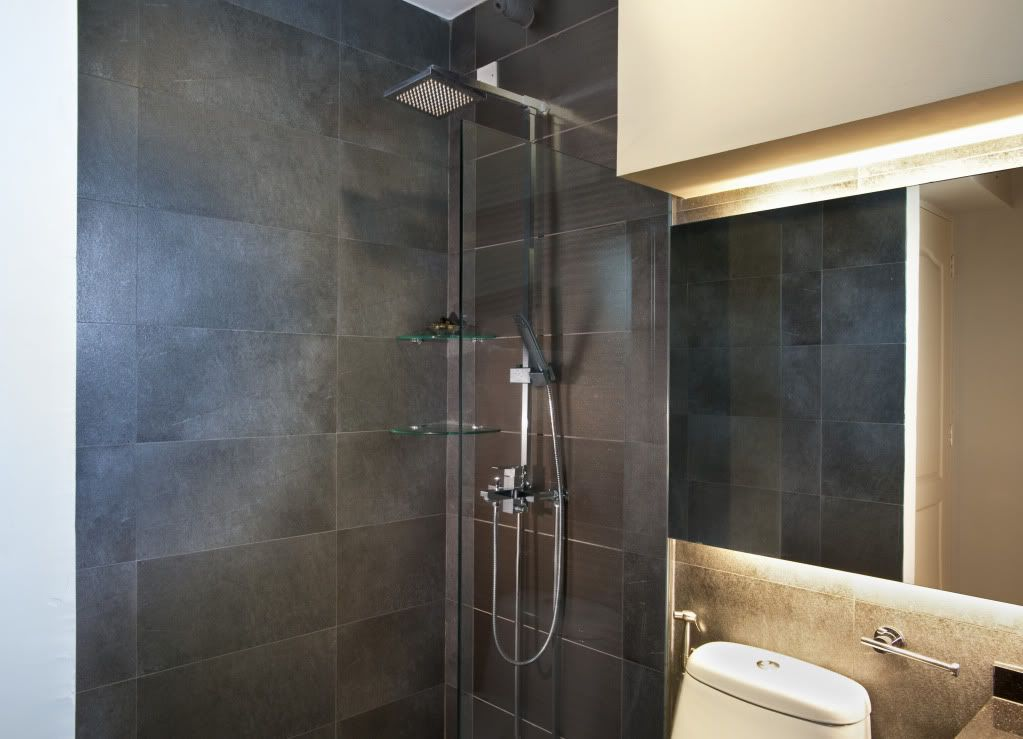 Hdb Toilet Grey Slate For The Home Pinterest Slate Toilet And Toilet Tiles