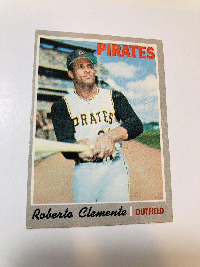 1970 opc roberto clemente baseball card in 2020 baseball