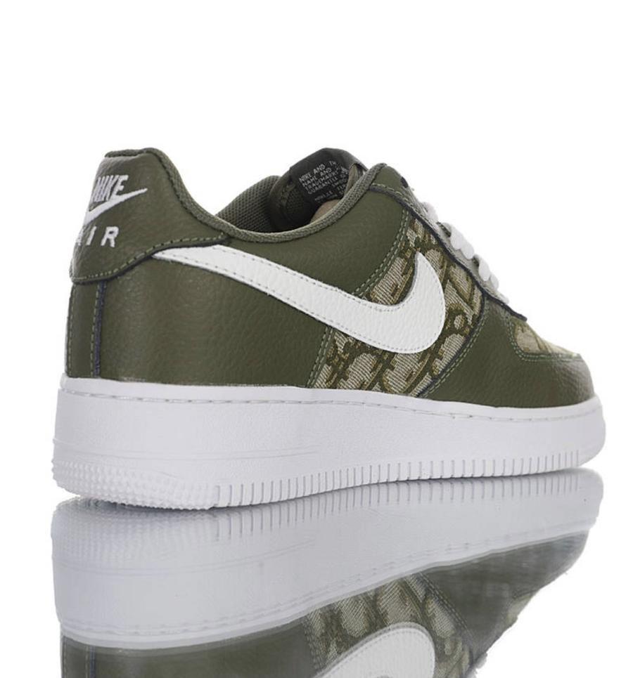 "Custom Nike Airforce 1 x Dior ""Money"