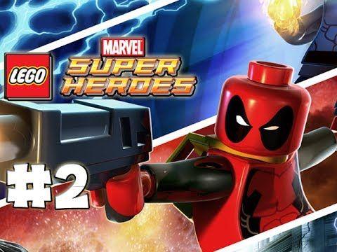 LEGO Marvel Superheroes - LEGO BRICK ADVENTURES - Part 2 - DEADPOOL ...