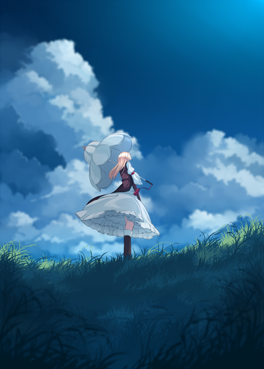 touhou Part 298 lG1FEF 東方 touhou Anime scenery in 2019