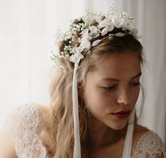 Tri floral bridal silk flower crown buttercup no 2090 wedding tri floral bridal silk flower crown buttercup no 2090 mightylinksfo