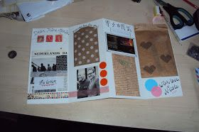 Coco Gold - Blog over low-budget beauty, fashion en food: DIY: Letter-envelope