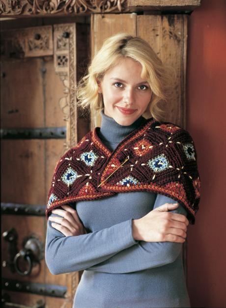 Chic Capelet Free Pattern   @Rachel Lee Today   Crochet~ Wearables ...