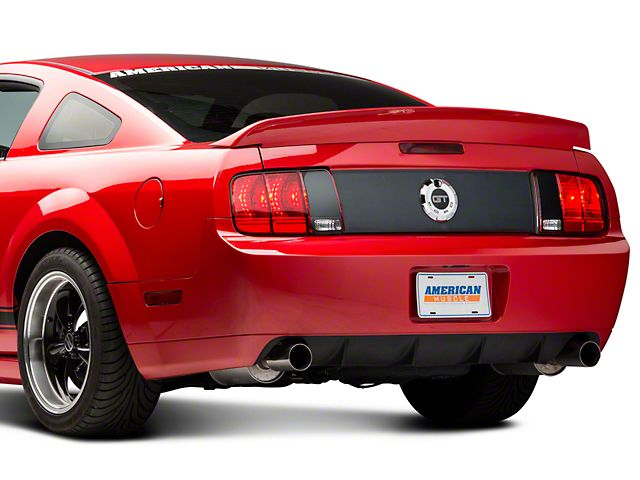 Speedform Mustang Saleen Style Rear Blackout Kit 80001 05 09 All Free Shipping Ford Classic Cars Blackout Kits Blackout Panels