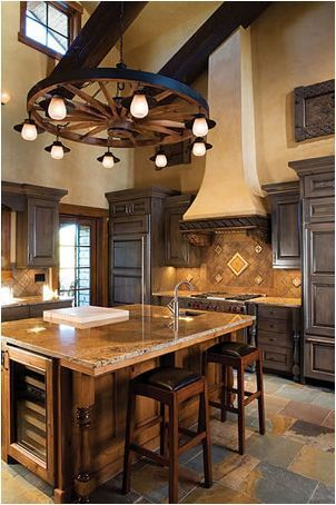 A Theme That Works Mexican Style Kitchens Western Kitchen Decor Mexican Kitchen Decor