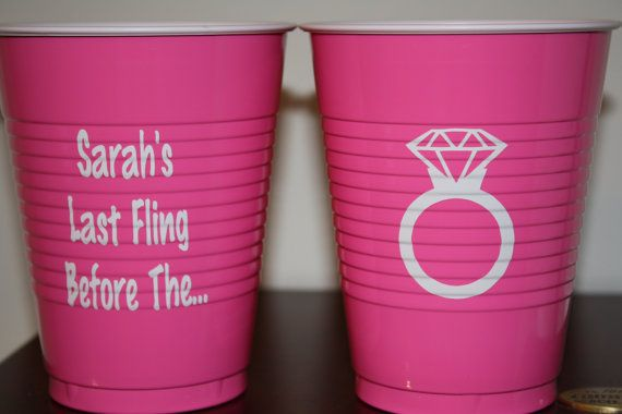 personalized solo cups by magnoliajanegifts on etsy 4 00