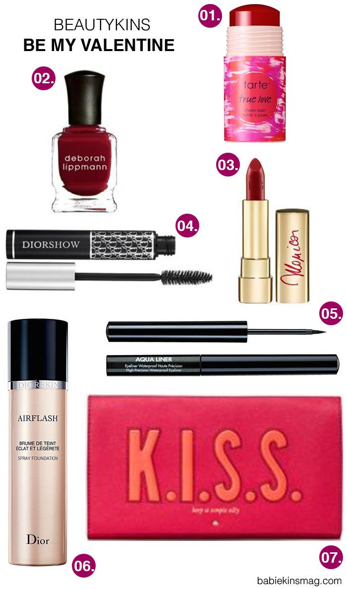 | Babiekins Magazine | Beautykins // Be My Valentine |