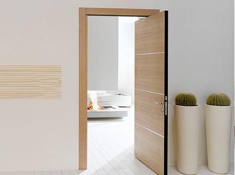 Space-Saving Double-Swing Doors Pivot on Hidden Hinges | Designs ...