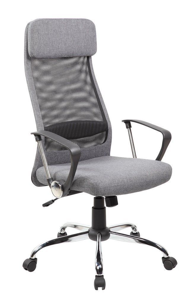 amazoncom united chair uoc8045gr high back mesh and fabric