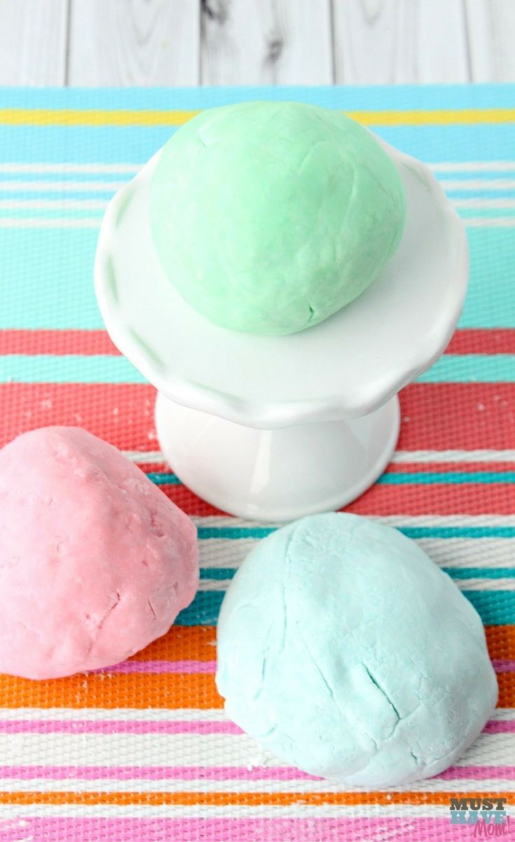 Lush Fun copycat recipe for bath tub playdough! Bubble bath play ...