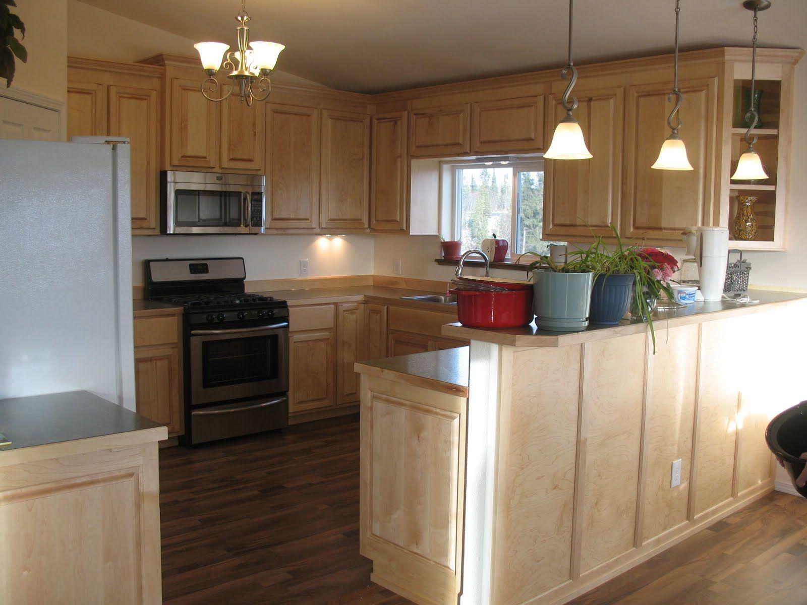 kitchen ideas maple cabinets | Maple Kitchen Cabinets ... on Maple Cabinets Kitchen Ideas  id=28503