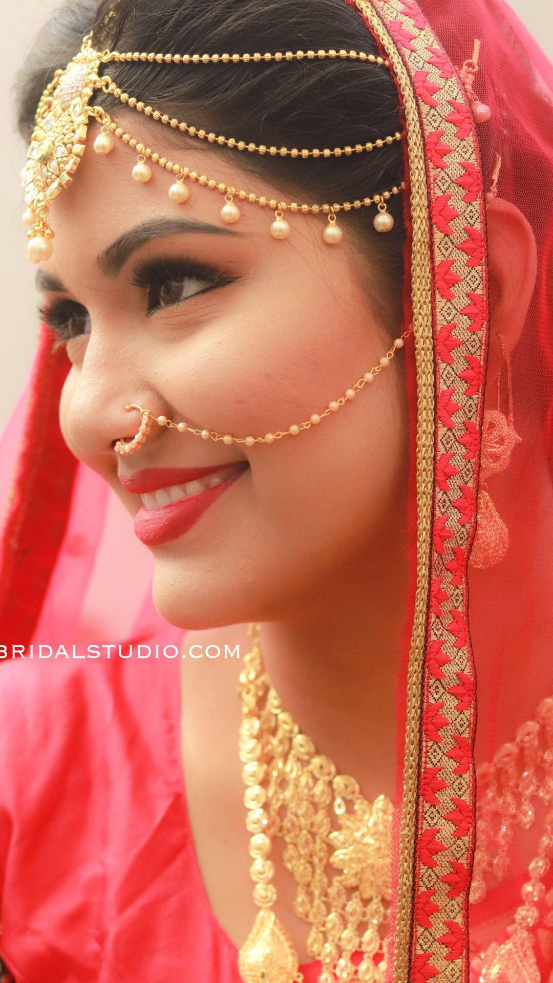 northindian bridal muslim makeup by karthika b3bridalstudio