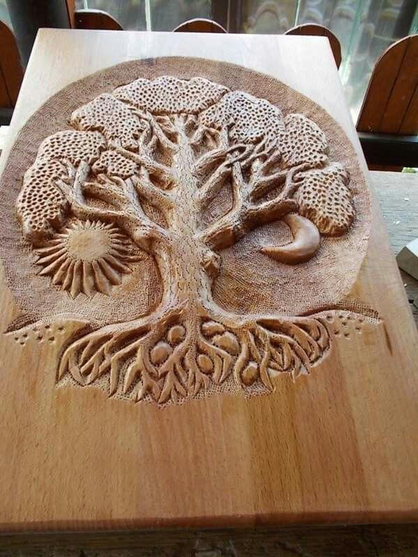 Pingl par rita ryzhkova sur pinterest sculpture bois bois et tain - Modele sculpture sur bois gratuit ...