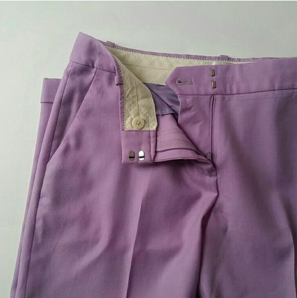 J.Crew Purple Lilac Cafe Capri Dress Trousers Sz 2 *Excellent used condition * Lilac in Color *J.crew Cafe style Work Trouser *Condition Score 9 of 10 *Size 2  * Please feel free to ?? Ask Questions  ?? Make Offers ?? Share for share ?? ?? Buy With confidence that your package will be shipped with love and care J. Crew Pants Trousers