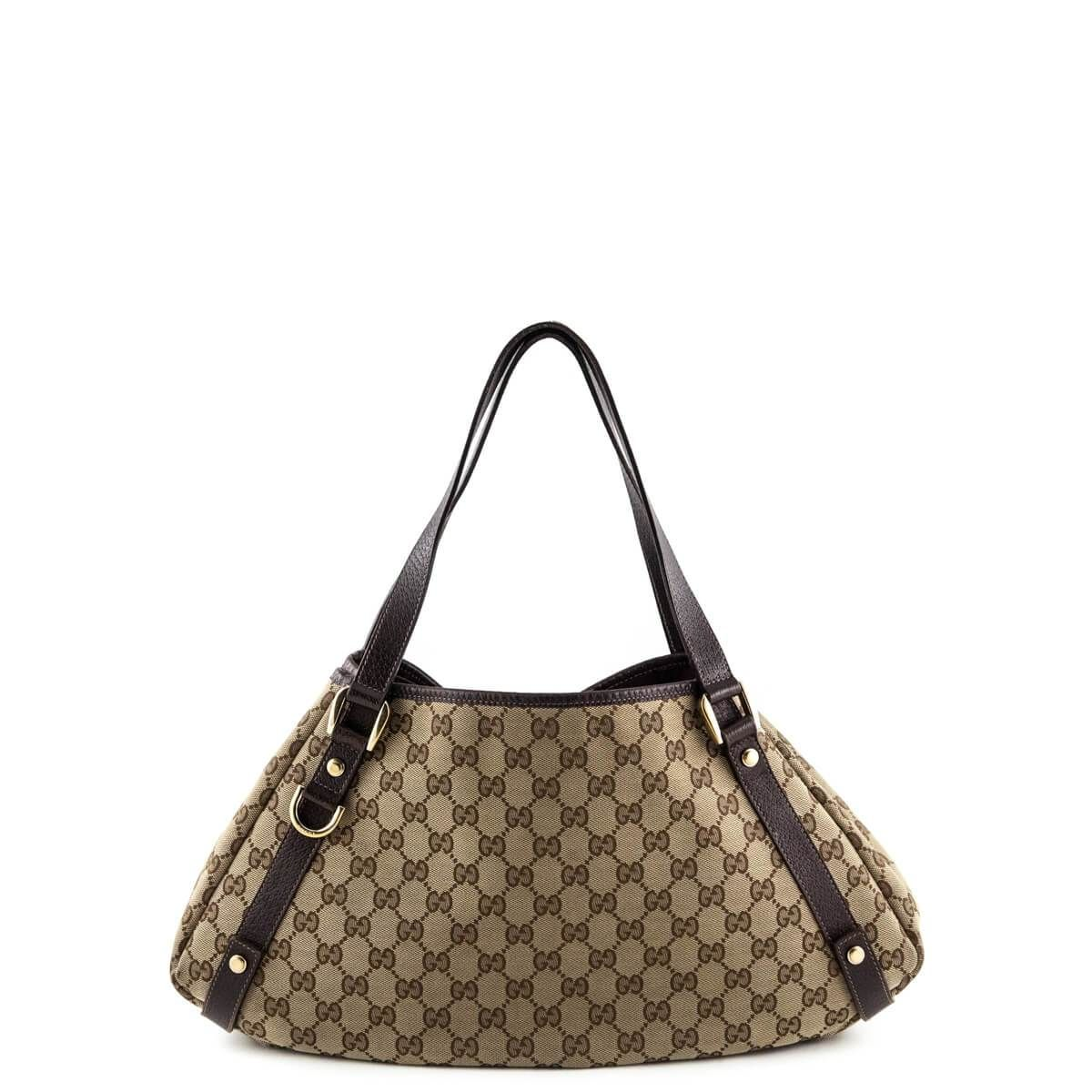 a623420fce84 Gucci Monogram Canvas Tote Bag - LOVE that BAG - Preowned Authentic  Designer Handbags