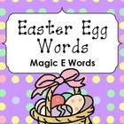 This Easter / Spring themed Magic E (or Silent E) word game is perfect for literacy centers and small group activities.    Easter Egg Words – Magic E...