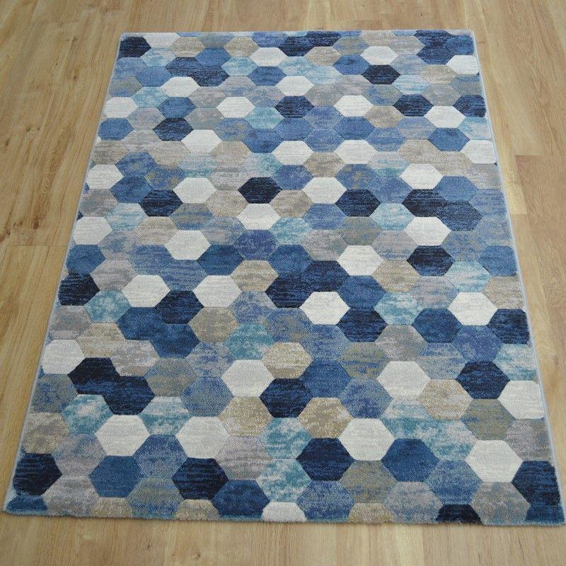 Galleria Rugs 63456 5161 in Blue buy online from the rug seller uk
