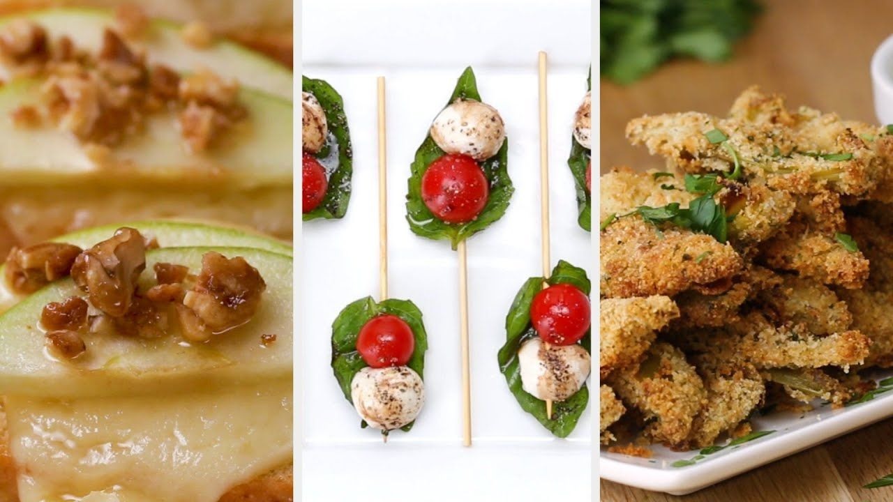 How To Make 3 Fancy and Easy New Year's Eve Appetizers