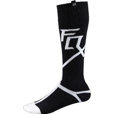 SAVE $2.28 - #2014 Fox FRI Capital Socks - Thick (SMALL) (BLACK) $12.71