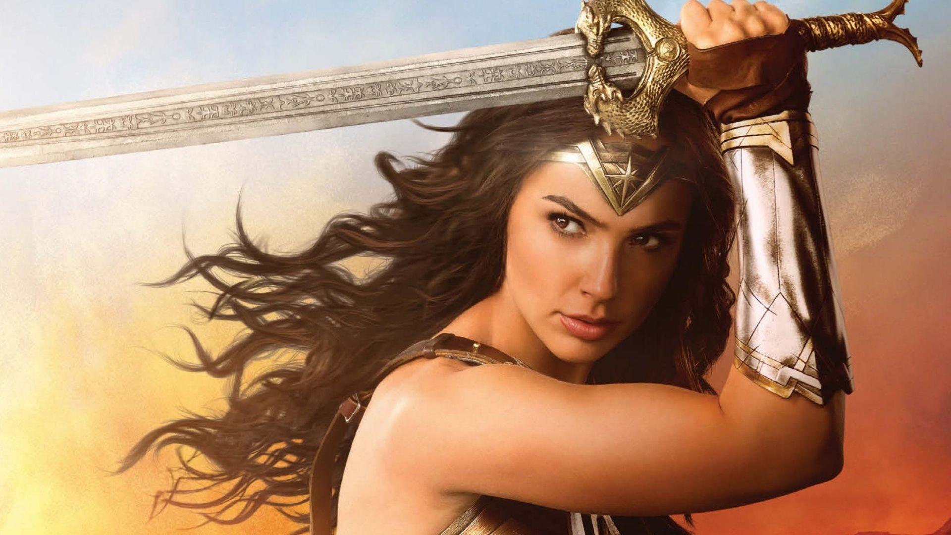 Cool Wonder Woman Sword 2017 Movie Gal Gadot 1920x1080 Wallpaper Check More At