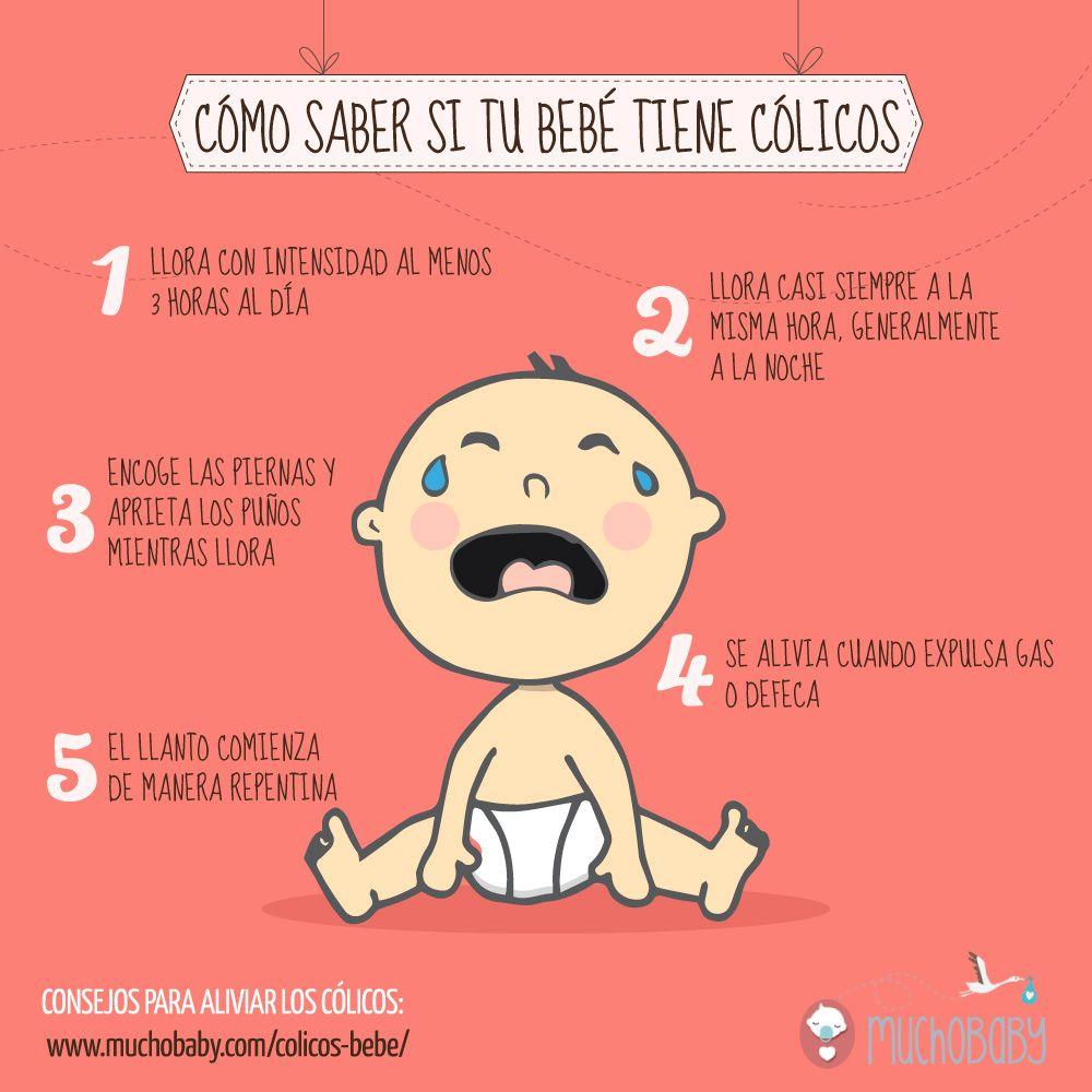 como calmar los colicos del bebe