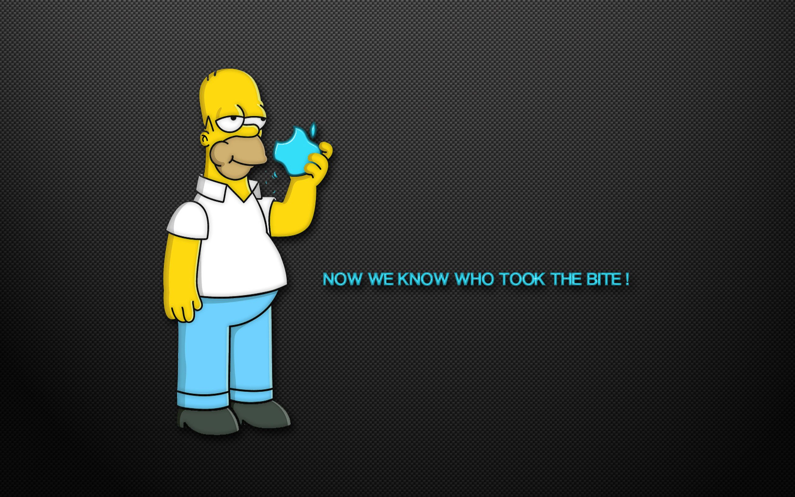 The Simpsons Funny Mac Wallpapers With Homer Simpson