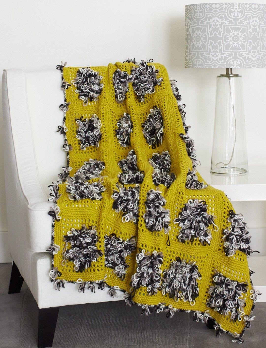 Yarnspirations bernat throw for a loop patterns free crochet bankloansurffo Images