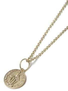 Gold Coin Necklace  Gold coin necklace