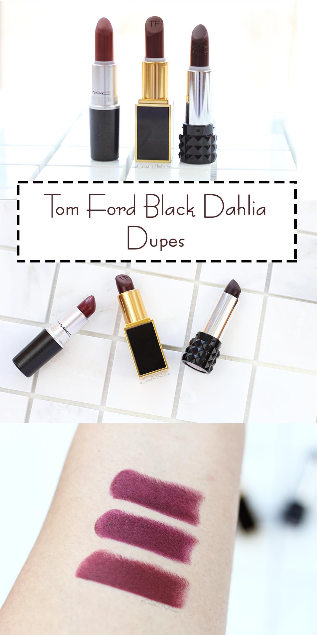 287d2bf6f004c Tom Ford Black Dahlia Dupes  dupes  tomford  maclipstick